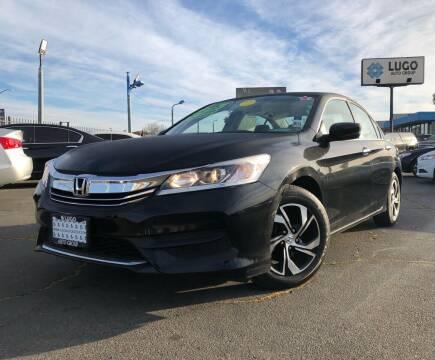 2016 Honda Accord for sale at LUGO AUTO GROUP in Sacramento CA
