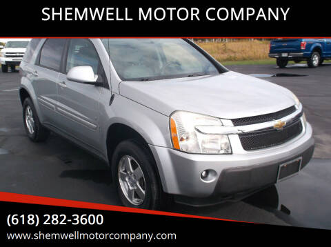 2006 Chevrolet Equinox for sale at SHEMWELL MOTOR COMPANY in Red Bud IL