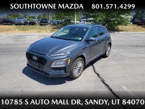 2019 Hyundai Kona for sale at Southtowne Mazda of Sandy in Sandy UT