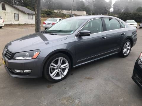 2013 Volkswagen Passat for sale at HARE CREEK AUTOMOTIVE in Fort Bragg CA