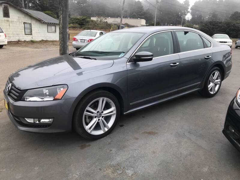 2013 Volkswagen Passat for sale at HARE CREEK AUTOMOTIVE in Fort Bragg CA