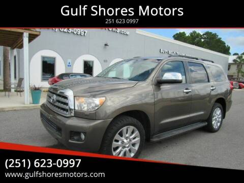2008 Toyota Sequoia for sale at Gulf Shores Motors in Gulf Shores AL