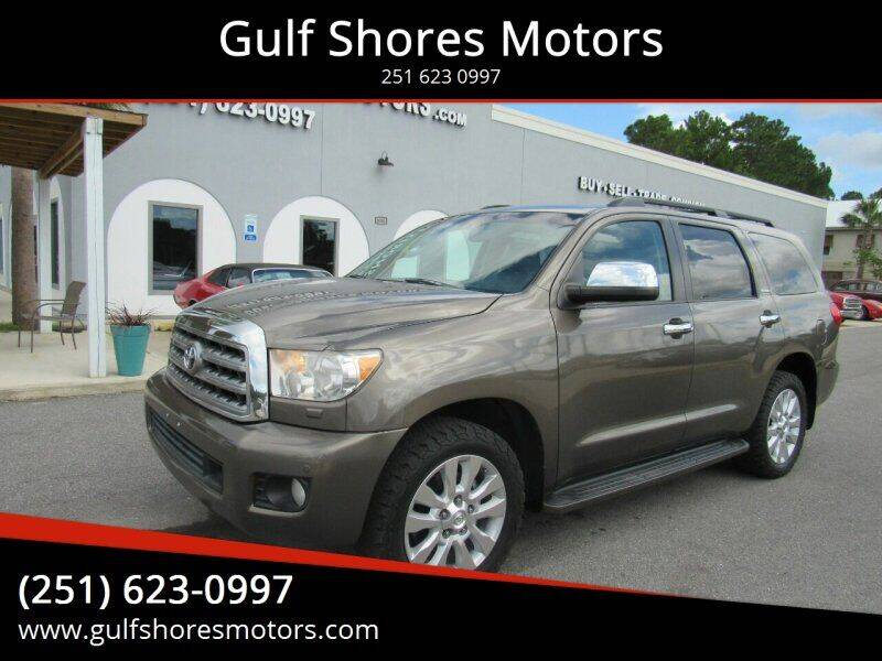 2008 Toyota Sequoia for sale at Gulf Shores Motors in Gulf Shores AL