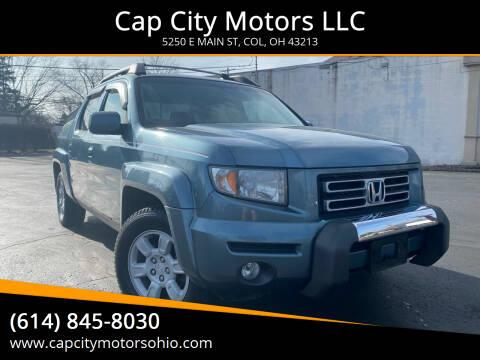 2006 Honda Ridgeline for sale at Cap City Motors LLC in Columbus OH