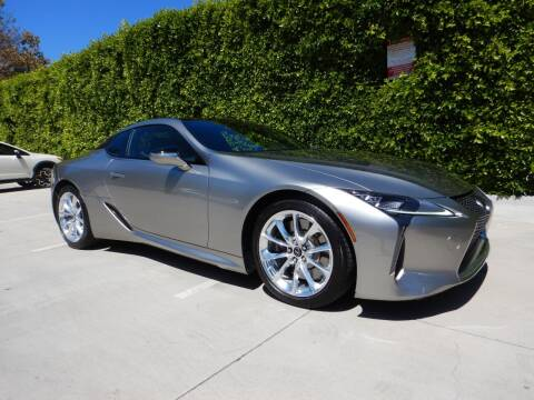 2018 Lexus LC 500 for sale at California Cadillac & Collectibles in Los Angeles CA