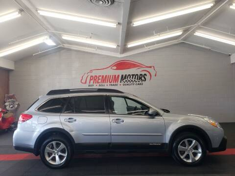 2014 Subaru Outback for sale at Premium Motors in Villa Park IL