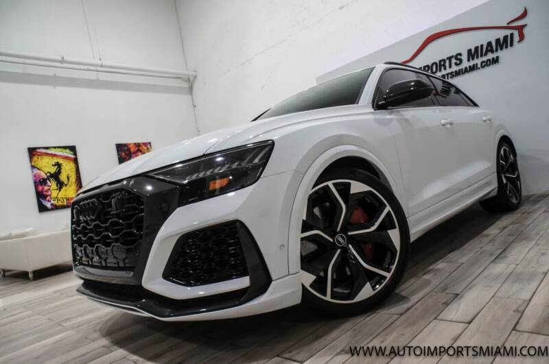 2021 Audi RS Q8 for sale at AUTO IMPORTS MIAMI in Fort Lauderdale FL