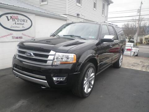 2017 Ford Expedition EL for sale at VICTORY AUTO in Lewistown PA