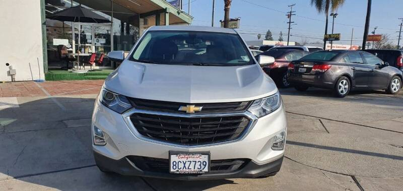 2018 Chevrolet Equinox for sale at Auto Land in Ontario CA