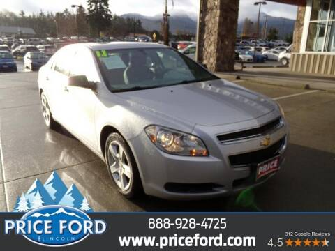 2011 Chevrolet Malibu for sale at Price Ford Lincoln in Port Angeles WA