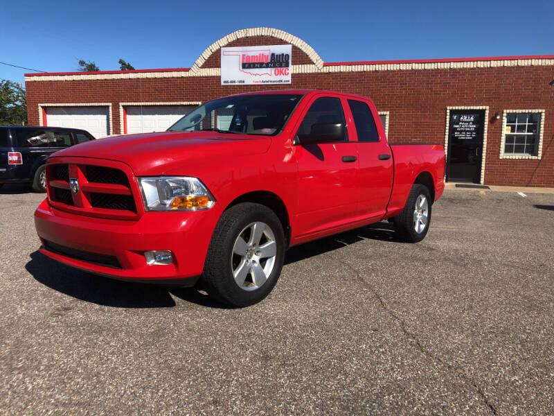 2012 RAM Ram Pickup 1500 for sale at Family Auto Finance OKC LLC in Oklahoma City OK