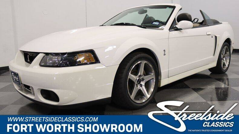 2003 Ford Mustang SVT Cobra for sale in Fort Worth, TX