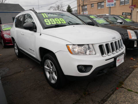 2011 Jeep Compass for sale at M & R Auto Sales INC. in North Plainfield NJ