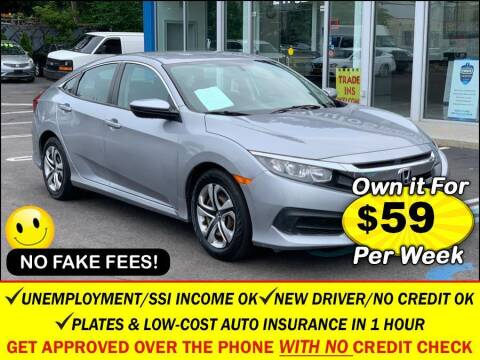 2016 Honda Civic for sale at AUTOFYND in Elmont NY