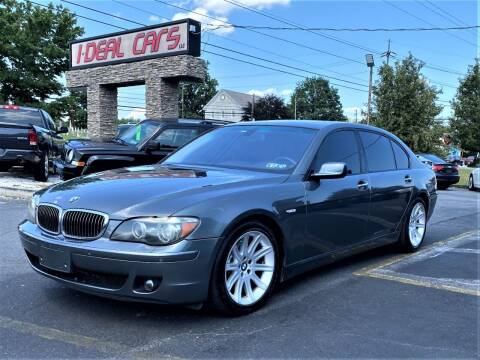 2006 BMW 7 Series for sale at I-DEAL CARS in Camp Hill PA
