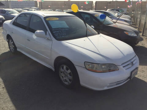 2001 Honda Accord for sale at Premier Auto Sales in Modesto CA