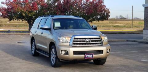 2010 Toyota Sequoia for sale at America's Auto Financial in Houston TX