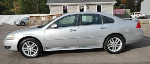 2012 Chevrolet Impala for sale at Hilltop Auto in Prescott MI