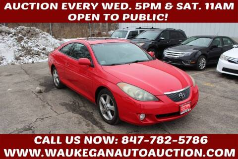 2006 Toyota Camry Solara for sale at Waukegan Auto Auction in Waukegan IL