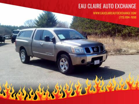 2006 Nissan Titan for sale at Eau Claire Auto Exchange in Elk Mound WI