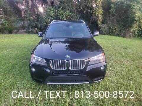 2013 BMW X3 for sale at Florida Motocars in Tampa FL