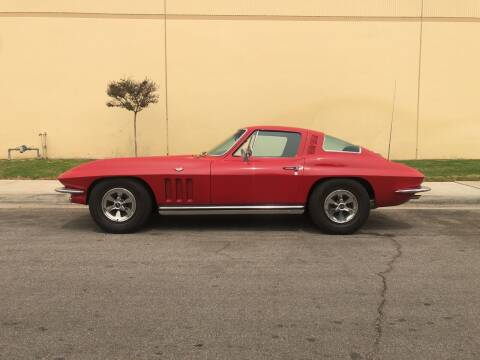 1965 Chevrolet Corvette for sale at HIGH-LINE MOTOR SPORTS in Brea CA