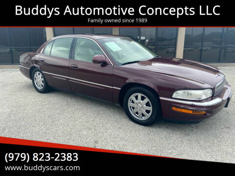 2004 Buick Park Avenue for sale at Buddys Automotive Concepts LLC in Bryan TX