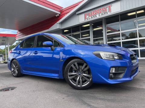 2015 Subaru WRX for sale at Furrst Class Cars LLC in Charlotte NC
