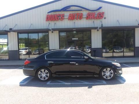2014 Hyundai Genesis for sale at DOUG'S AUTO SALES INC in Pleasant View TN
