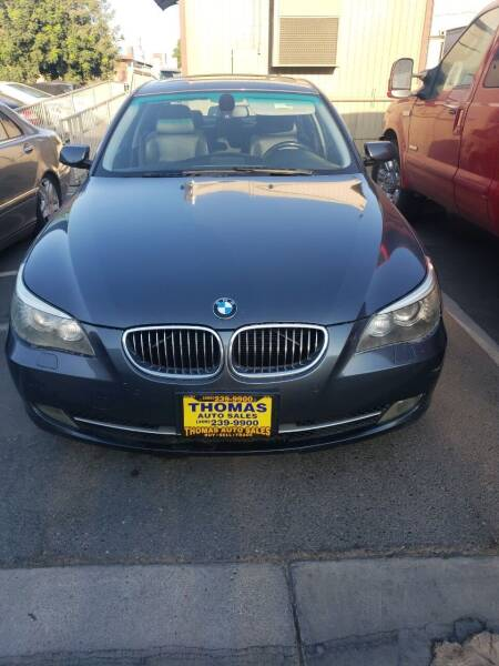 2009 BMW 5 Series for sale at Thomas Auto Sales in Manteca CA