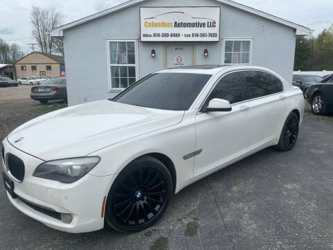 2010 BMW 7 Series for sale at COLUMBUS AUTOMOTIVE in Reynoldsburg OH