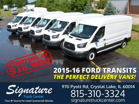 2016 Ford Transit for sale at Signature Truck Center in Crystal Lake IL