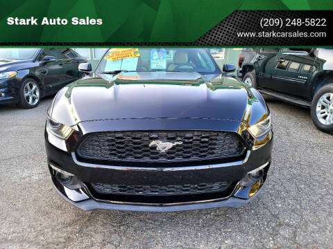 2015 Ford Mustang for sale at Stark Auto Sales in Modesto CA