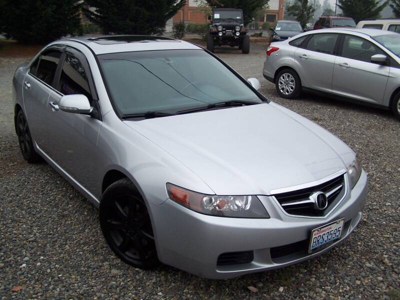 2004 Acura TSX for sale at M & M Auto Sales LLc in Olympia WA