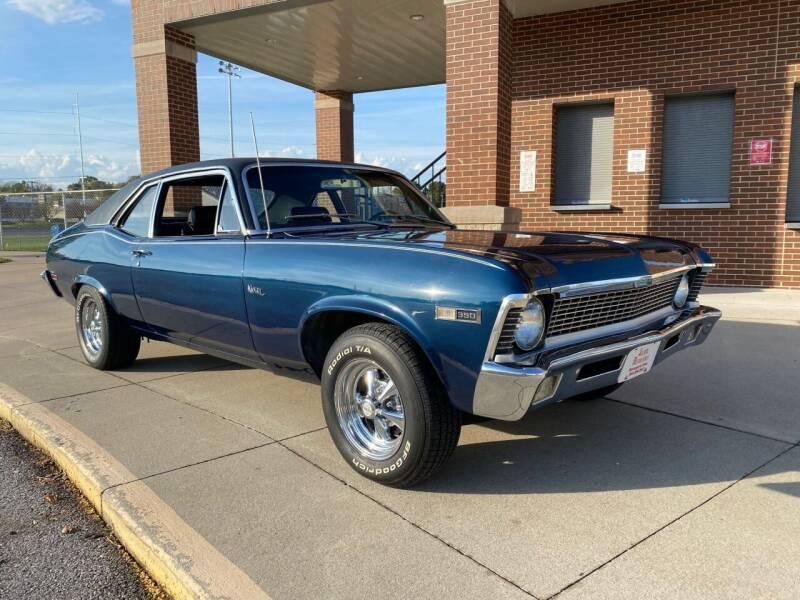 1970 Chevrolet Nova for sale at Klemme Klassic Kars in Davenport IA