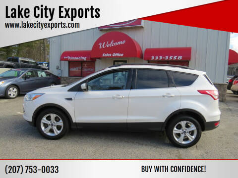 2014 Ford Escape for sale at Lake City Exports in Auburn ME