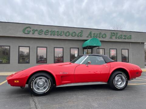 1974 Chevrolet Corvette for sale at Greenwood Auto Plaza in Greenwood MO