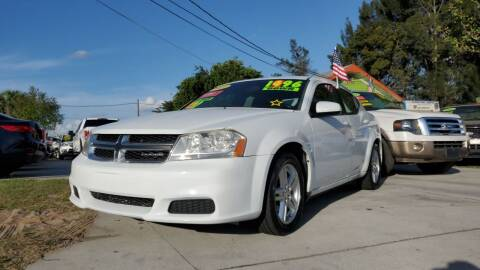 2011 Dodge Avenger for sale at GP Auto Connection Group in Haines City FL