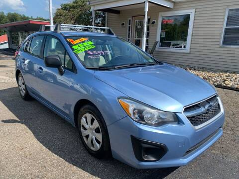 2012 Subaru Impreza for sale at G & G Auto Sales in Steubenville OH