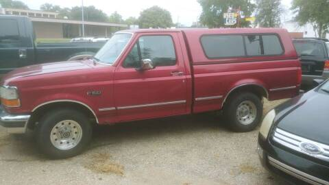 1995 Ford F-150 for sale at D & D Auto Sales in Topeka KS