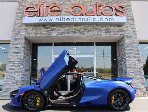 2019 McLaren 720S for sale at Elite Autos LLC in Jonesboro AR