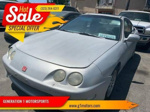 1998 Acura Integra for sale at GENERATION 1 MOTORSPORTS #1 in Los Angeles CA