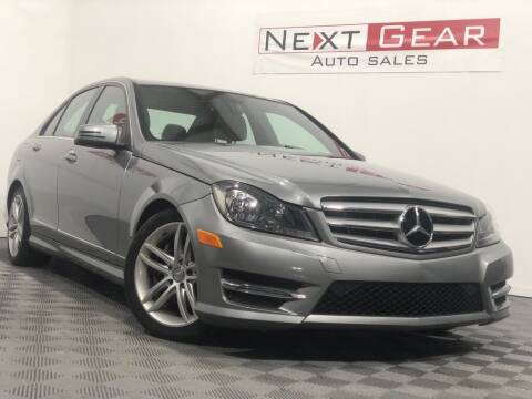 2013 Mercedes-Benz C-Class for sale at Next Gear Auto Sales in Westfield IN