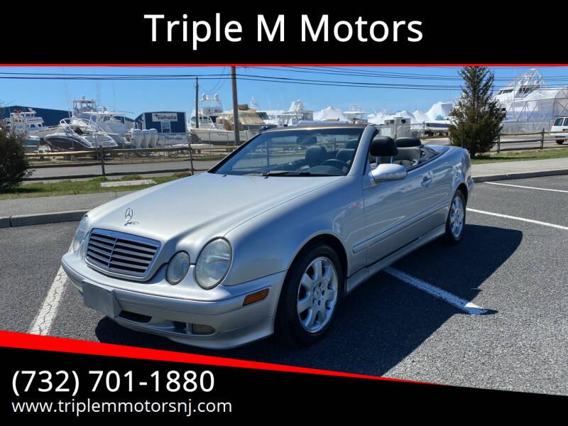 2003 Mercedes-Benz CLK for sale at Triple M Motors in Point Pleasant NJ