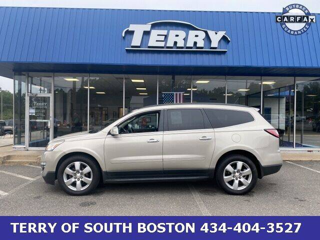2016 Chevrolet Traverse for sale at Terry of South Boston in South Boston VA