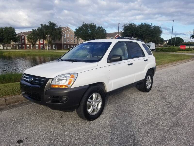 2005 Kia Sportage for sale at Street Auto Sales in Clearwater FL