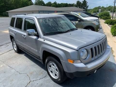 2016 Jeep Patriot for sale at Kurt Bonners Whitehall Motor Sales in Whitehall MI
