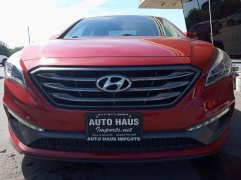 2017 Hyundai Sonata for sale at Auto Haus Imports in Grand Prairie TX