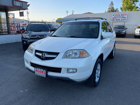 2006 Acura MDX for sale at Adams Auto Sales in Sacramento CA