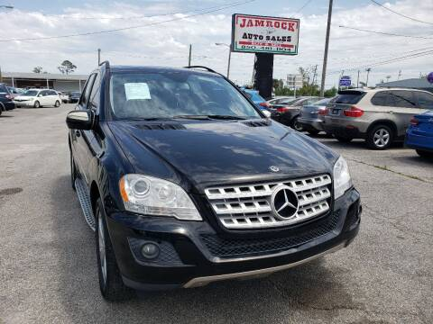 2009 Mercedes-Benz M-Class for sale at Jamrock Auto Sales of Panama City in Panama City FL